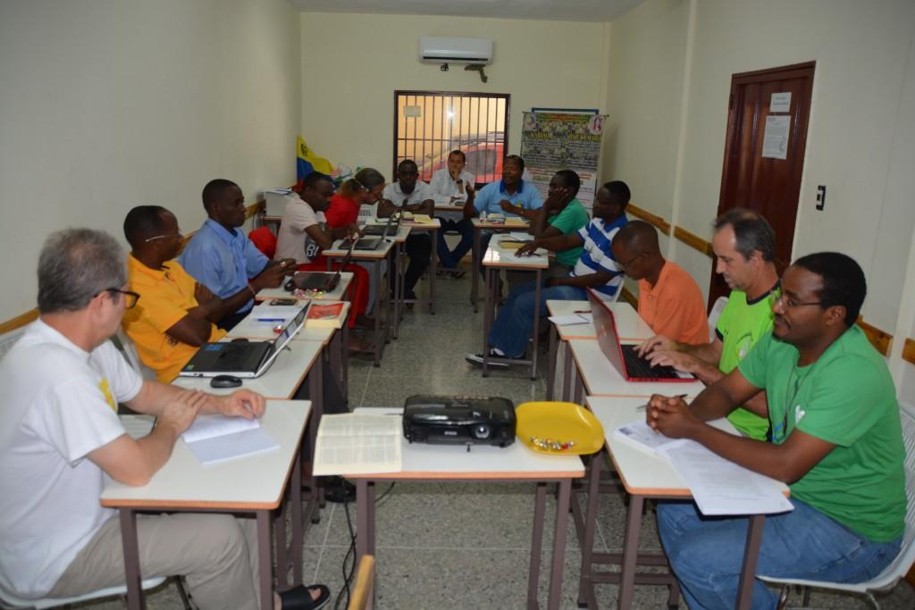 Participantes en la VIII Conferencia Delegación Venezuela