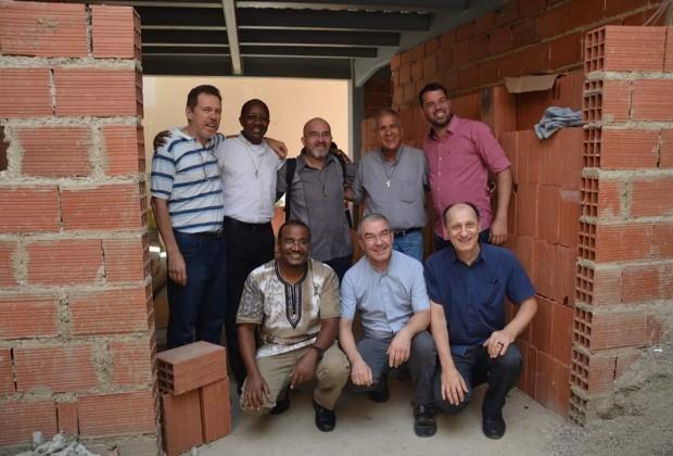 Missionários da Consolata em Caracas. (Fotos: Jaime C. Patias / Arquivo Missões)