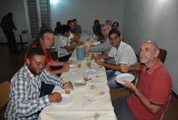 Conselho Continental IMC América em visita no Seminário Filosófico em Caracas. (Fotos: Jaime C. Patias)