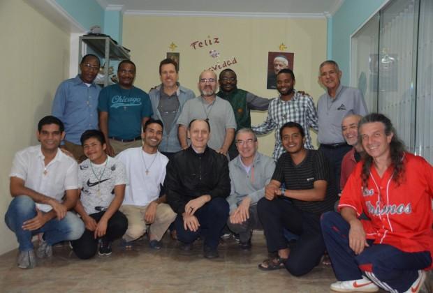 Conselho Continental IMC América em visita no Seminário Filosófico em Caracas. (Fotos: Arquivo IMC)