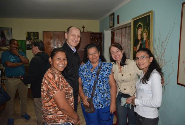 Conselho Continental IMC América em visita no Seminário Filosófico em Caracas. (Fotos: Arquivo IMC