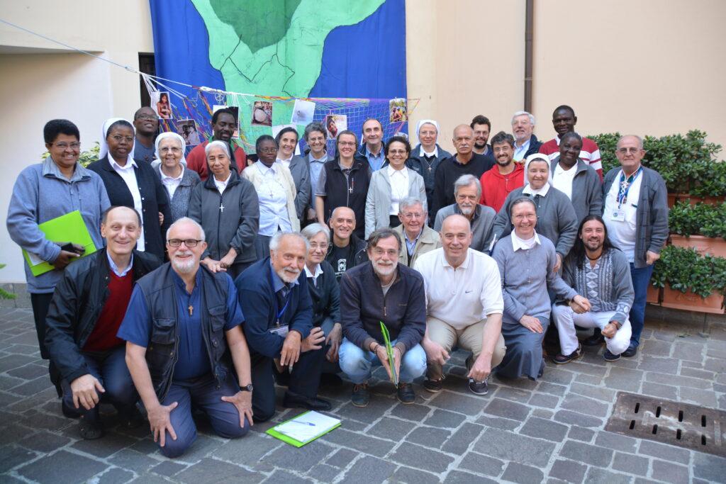 Participantes do Congresso sobre a Missão na Casa Geral IMC em Roma. Foto: Pedro Louro.
