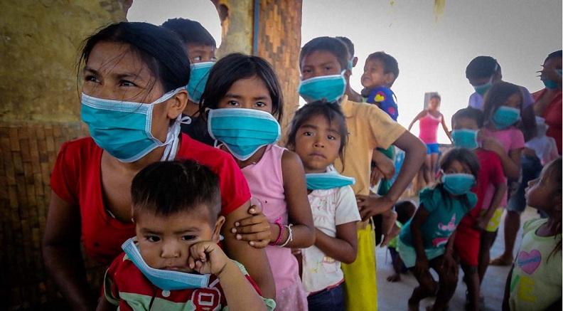 Comunidade indígena warao luta contra a Covid-19 – Foto: William Urdaneta