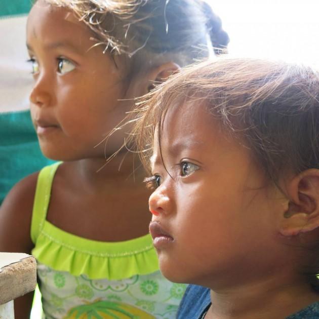 Em Tucupita é preciso salvar a as crianças do povo warao – Foto: Minerva Vitti